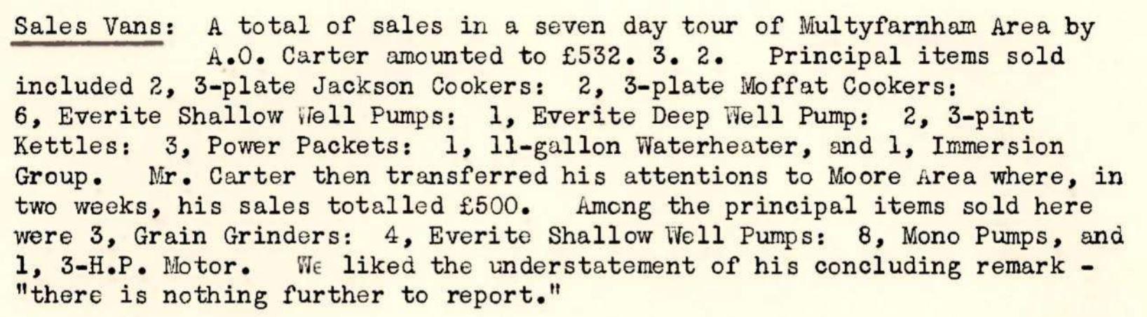 REO News, August 1950, p. 10