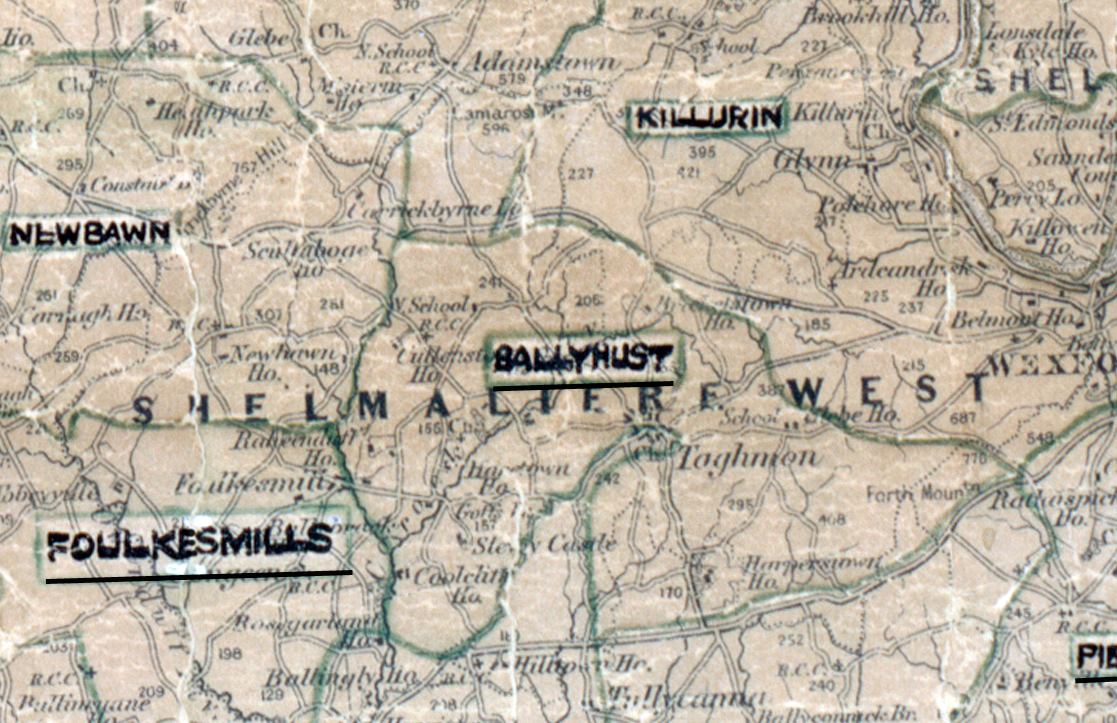 Ballyhust-Map-waterford