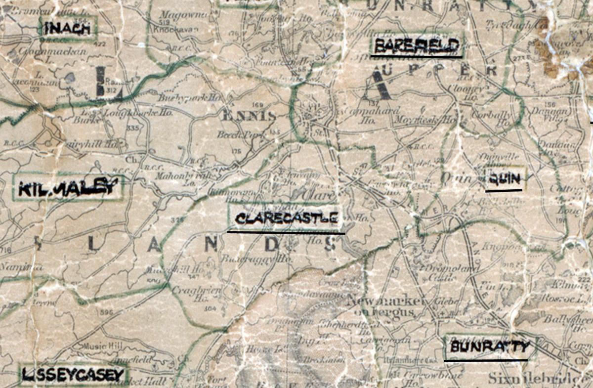 Clarecastle-Map-limerick