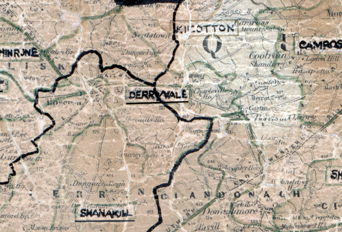 Derryvale-Map-portlaoise