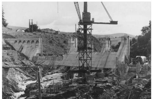 Golden Falls Dam September 1940