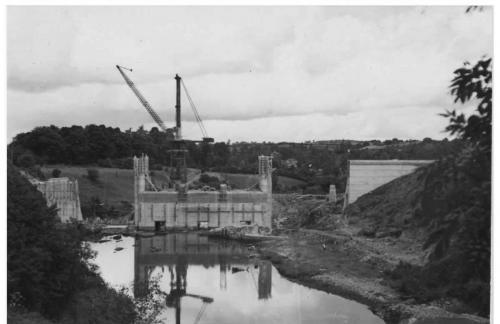 Golden Falls Dam 1940