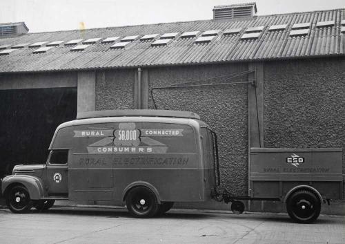 REO Demonstration Van